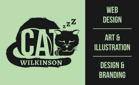 Cat Wilkinson Business Card Front