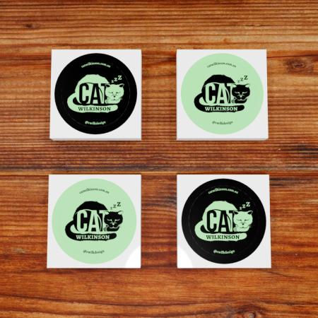Cat Wilkinson Stickers Showcase